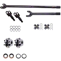 Alloy USA Dana 30 Grande 30/30-Spline Kit (97-06 Wrangler TJ) - Alloy USA 12232