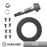 Omix-ADA Dana 35 Ring & Pinion Kit 3.55 Ratio (87-06 Wrangler YJ & TJ) - Omix-ADA 16514.03