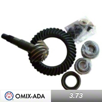 Omix-ADA Dana 35 Ring & Pinion Kit 3.73 Ratio,Includes Bearings, Cups, Shims, Seals & Hardware (94-04 Wrangler YJ & TJ) - Omix-ADA 16514.04