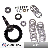 Omix-ADA Dana 35 Ring & Pinion Kit 4.11 Ratio (97-01 Wrangler TJ) - Omix-ADA 16514.05