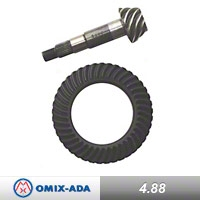Omix-ADA Dana 35 Ring & Pinion Kit 4.88 Ratio (90-02 Wrangler YJ & TJ) - Omix-ADA 16514.07