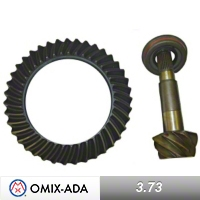 Omix-ADA Dana 44 Ring & Pinion Kit 3.73 Ratio for Flanged Axle Shafts (97-06 Wrangler TJ) - Omix-ADA 16513.62