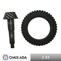 Omix-ADA Dana 44 Ring and Pinion Kit 3.55 Ratio (97-06 Wrangler TJ) - Omix-ADA 16513.67
