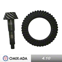 Omix-ADA Dana 44 Ring and Pinion Kit 4.10 Ratio (97-06 Wrangler TJ) - Omix-ADA 16513.69