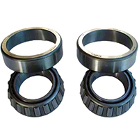 Timken Differential Side Bearings & Races for Dana 44 (87-14 Wrangler YJ, TJ & JK) - Timken 8124071