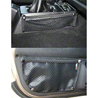 Rugged Ridge Door Box & Console Trail Net Kit (97-06 Wrangler TJ) - Rugged Ridge 13551.21