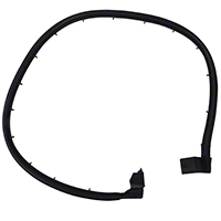 Omix-ADA Driver Door Outer Seal For Half Door (97-06 Wrangler TJ) - Omix-ADA 12303.15