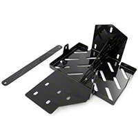 Rugged Ridge Dual Battery Tray (07-13 Wrangler JK 4 Door) - Rugged Ridge 11214.53