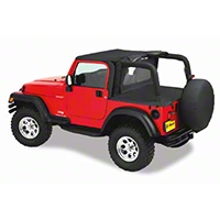 Bestop Duster Deck Cover w/ Hardtop Removed (03-06 Wrangler TJ) - Bestop 90022-35