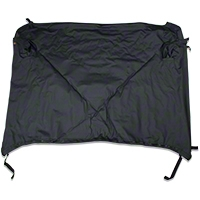 Bestop Duster Deck Cover, Black (07-13 Wrangler JK 2 Door) - Bestop 90033-35