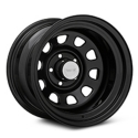 Rugged Ridge D-Window Black Steel Wheel 15x10 (87-06 Wrangler YJ & TJ) - Rugged Ridge 15500.02