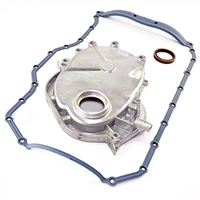 Omix-ADA Engine Timing Cover w/ Molded Rubber Oil Pan Gasket, 2.5L (87-92 Wrangler YJ) - Omix-ADA 17457.06