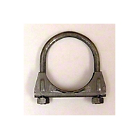 Omix-ADA Exhaust Clamp - 2 In. Regular Duty (Universal Application) - Omix-ADA 17620.06