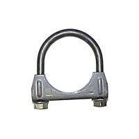 Omix-ADA Exhaust Clamp - Clamp - 2 In. Heavy Duty (Universal Application) - Omix-ADA 17620.09