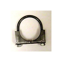 Omix-ADA Exhaust Clamp - Clamp - 2-1/4 In. Regular Duty (Universal Application) - Omix-ADA 17620.08