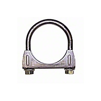 Omix-ADA Exhaust Clamp 2-1/4 In. Heavy Duty (Universal Application) - Omix-ADA 17620.1