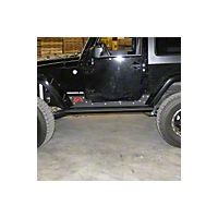 Fab Fours 3/16 Formed Steel Rock Sliders (07-08 Wrangler JK) - Fab Fours JK07-G1350-B