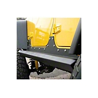 Fab Fours 3/16 Formed Steel Rock Sliders (07-13 Wrangler JK 4 Door) - Fab Fours JK07-G1250-B
