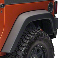 Rugged Ridge Rear Left Fender Flare (07-13 Wrangler JK 4 Door) - Rugged Ridge 11609.13