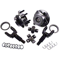 Alloy USA Front Axle Grande 30 Spline Outer/Unit Bearing Upgrade Kit (87-06 Wrangler YJ & TJ) - Alloy USA 12168