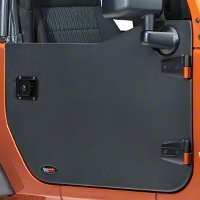Rugged Ridge Front Half Door - Pair (07-13 Wrangler JK) - Rugged Ridge 11509.01