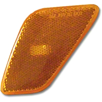 Omix-ADA Front Left Side Marker Light Lamp Lens (97-06 Wrangler TJ) - Omix-ADA 12401.07