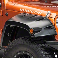 Bushwacker Front Pocket Flare Kit (07-13 Wrangler JK 4 Door) - Bushwacker 10045-02