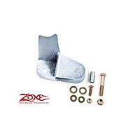 Zone Offroad Front Track Bar Relocation w/ 5 In. Lift (07-13 Wrangler JK) - Zone Offroad Products J5559