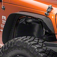 Warrior Products Front Tube Flares, Pair (07-13 Wrangler JK) - Warrior Products 7311