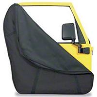 Bestop Full Steel Door Storage Jacket Pair (87-15 Wrangler YJ, TJ & JK) - Bestop 51666-01
