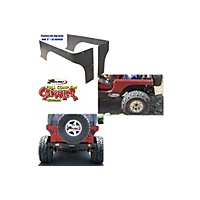 Gen-Right Competition Cut Steel Rear Corners (87-06 Wrangler YJ & TJ) - Gen-Right 2004
