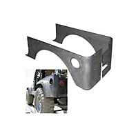 Gen-Right Standard Steel Competition Corner Guard (87-95 Wrangler YJ) - Gen-Right 4002