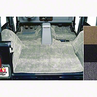 Rugged Ridge Deluxe Complete Carpet Kit - Gray (87-95 Wrangler YJ) - Rugged Ridge 13690.09