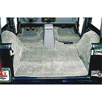 Rugged Ridge Deluxe Complete Carpet Kit - Gray (97-06 Wrangler TJ) - Rugged Ridge 13691.09