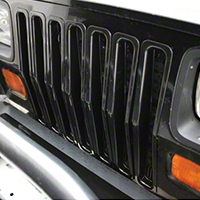Rugged Ridge Grille Insert Kit Black Plastic (87-95 Wrangler YJ) - Rugged Ridge 11306.04