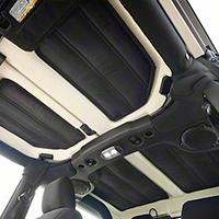 Rugged Ridge Hardtop Black Insulation (11-13 Wrangler JK 2 Door) - Omix-ADA 12109.03