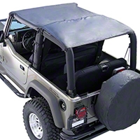 Rugged Ridge Roll Bar Top - Black Denim (97-06 Wrangler TJ) - Rugged Ridge 13581.15
