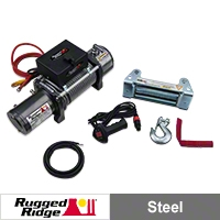 Rugged Ridge Heavy Duty 10,500lb. Winch (Universal Application) - Rugged Ridge 15100.1