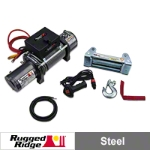 Rugged Ridge Heavy Duty 10,500lb. Winch (Universal Application) - Rugged Ridge 15100.1||15100.1