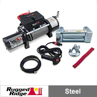Rugged Ridge Heavy Duty 8,500lb. Winch (Universal Application) - Rugged Ridge 15100.01