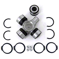 Alloy USA Heavy Duty Alloy X-joint Complete U-joint w/ Bearings (87-95 Wrangler YJ, 97-06 Wrangler TJ) - Alloy USA 11500