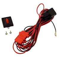Rugged Ridge 2 HID Offroad Fog Light Wiring Harnesses (Universal Application) - Rugged Ridge 15210.6