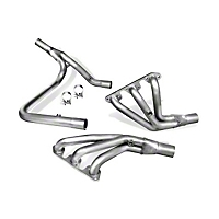 Borla Performance Industries High-Quality Austenitic Stainless Steel XR-1 Long Tube Headers (07-08 Wrangler JK) - Borla 17251