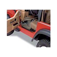 Bestop HighRock 4x4 Door Entry Guards (97-06 Wrangler TJ) - Bestop 51049-01