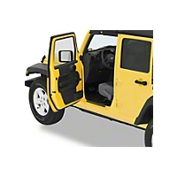 Bestop HighRock 4x4 Door Entry Guards (07-09 Wrangler JK 4 Door) - Bestop 51051-01