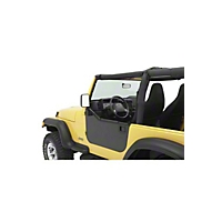 Bestop HighRock 4x4 Element Door Enclosure Kit (87-06 Wrangler YJ & TJ) - Bestop 51792-01||51792-01