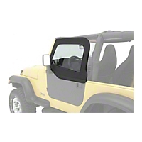 Bestop HighRock 4X4 Element Upper Doors, Black Denim (97-06 Wrangler TJ) - Bestop 51793-15
