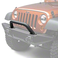 Rugged Ridge Hoop Over Rider Black Textured w/ Xtreme Heavy Duty Bumper (87-14 Wrangler YJ, TJ & JK) - Rugged Ridge 11540.14