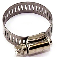 Omix-ADA Hose Clamp 1 1/2 in. to Fit Many Fuel Hoses (Universal Application) - Omix-ADA 17744.02