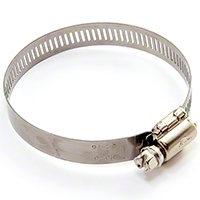 Omix-ADA Hose Clamp 3 in. to Fit Fuel Hose 992965 (Universal Application) - Omix-ADA 17744.03